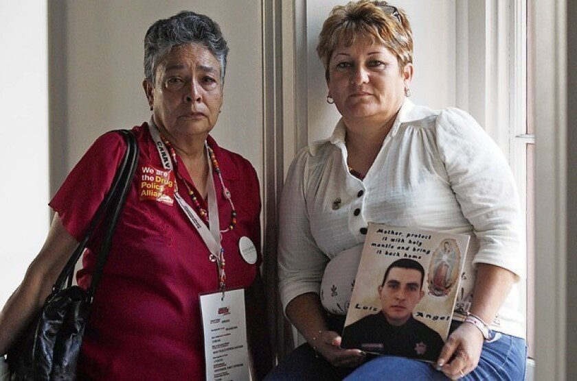 Mothers share their anguish at losses to Mexico's violence