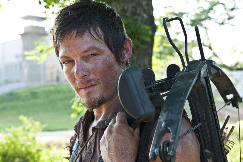 'Walking Dead's' Norman Reedus is go-to guy in zombie times