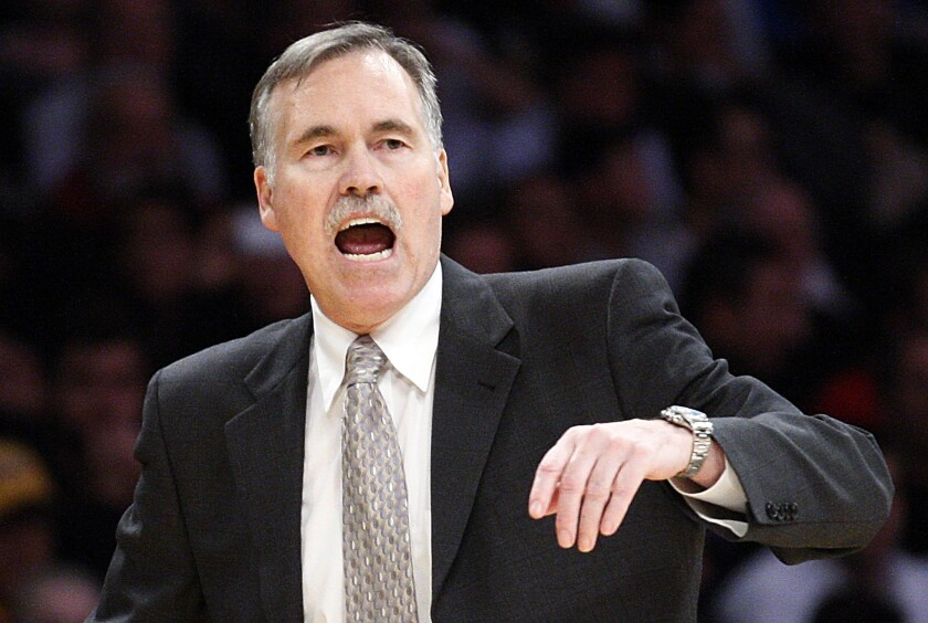 Coach Mike D'Antoni and the Lakers went 28-12 in their final 40 games this season to qualify for the playoffs despite a rash of injuries.