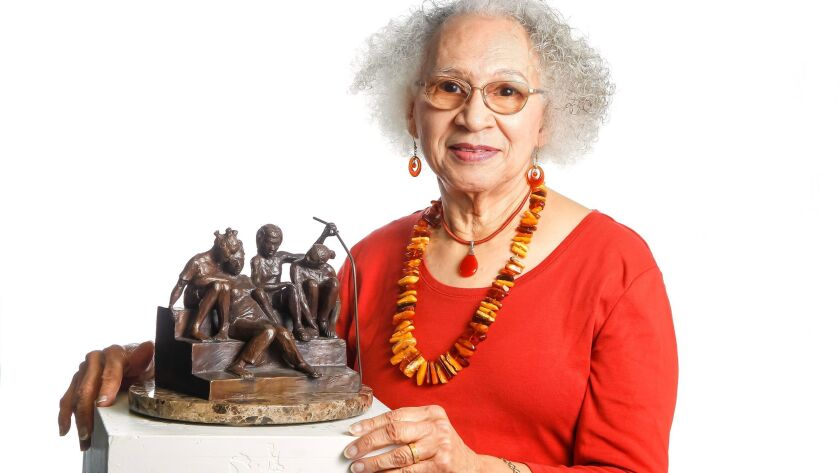 SAN DIEGO, CA February 27th 2018 | Manuelita Brown, who is an award winning sculptor and a UCSD alum