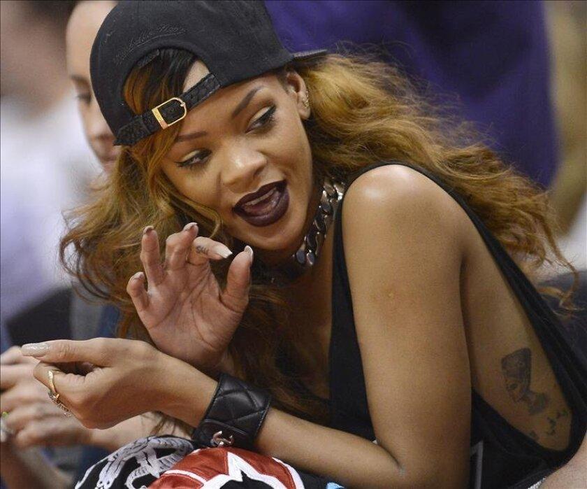 La cantante Rihanna. EFE/Archivo