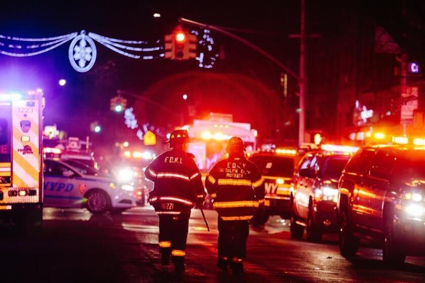 Seis personas resultaron hoy heridas en Nueva York, cinco con lesiones serias, en un fuego en un edificio de apartamentos y de uso comercial, en un vecindario de Staten Island. EFE/ARCHIVO
