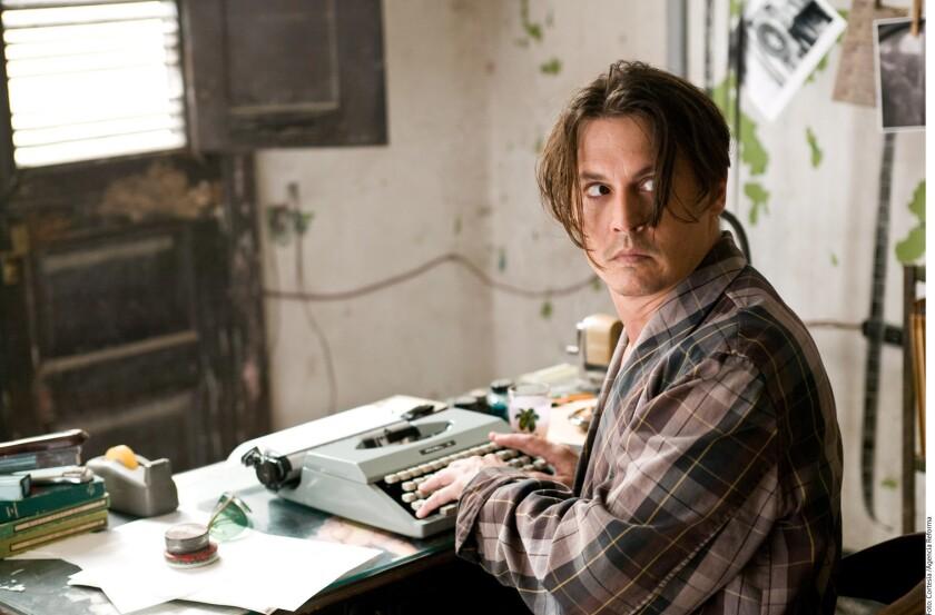 Foto de archivo de Johnny Depp.