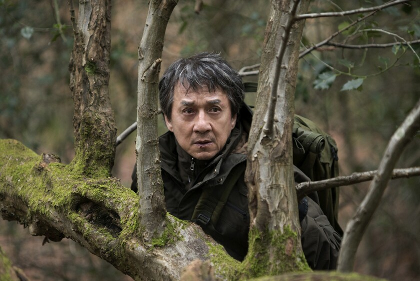 """Jackie Chan stars in the 2017 action movie """"The Foreigner"""" airing on Showtime."""