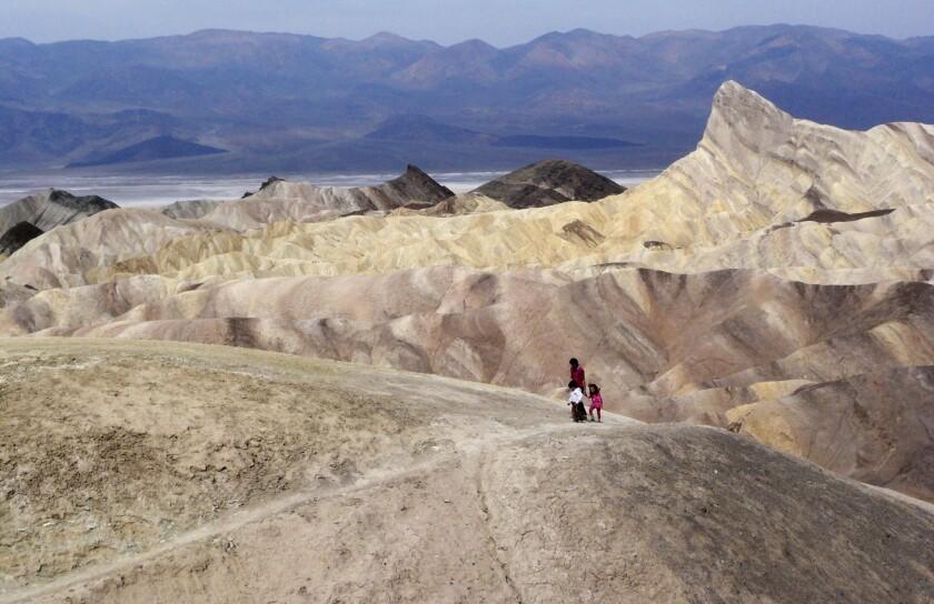 Beautiful vistas await those who visit Death Valley National Park, Calif.