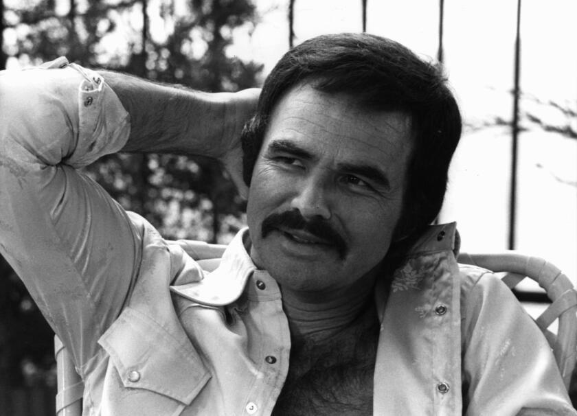 El legendario actor estadounidense Burt Reynolds en una foto de sus mejores tiempos.