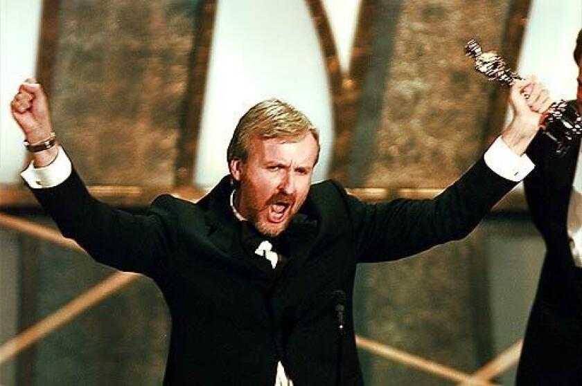 March 1998: James Cameron wins the best-director Oscar.