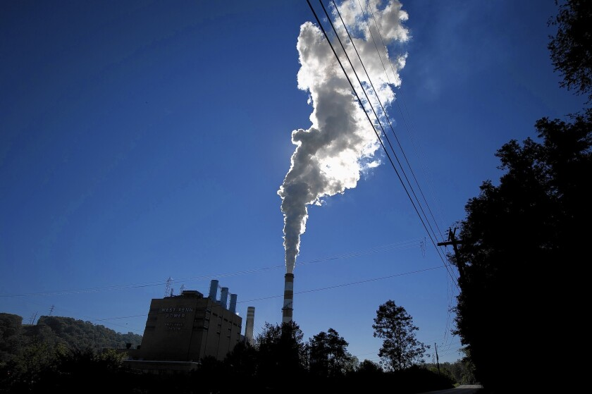 EPA limits on coal-fired power plants