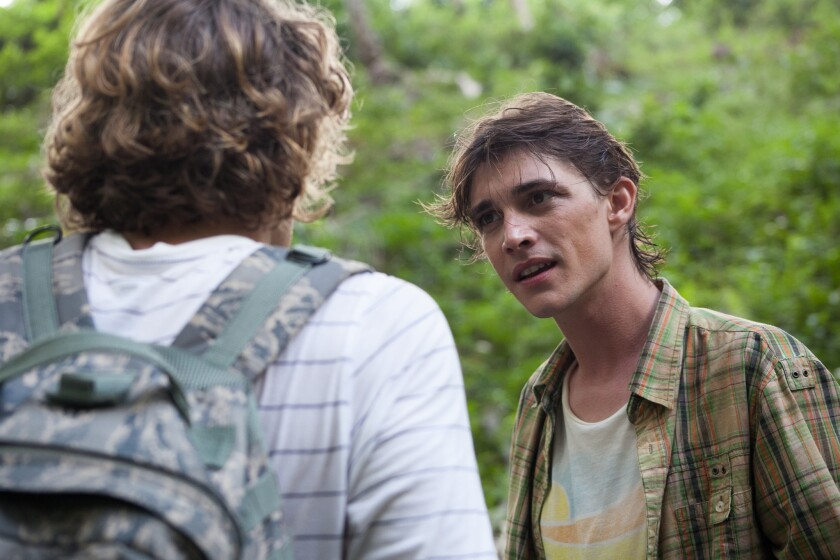"""Ryan Donowho as Dobbs in the horror/thriller """"Cabin Fever: Patient Zero,"""""""