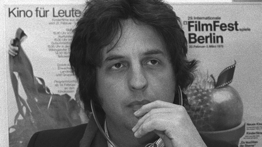Michael Cimino in Berlin in 1979.
