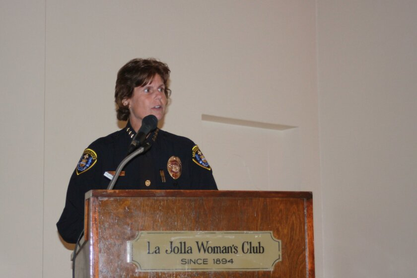 San Diego Police Chief Shelley Zimmerman
