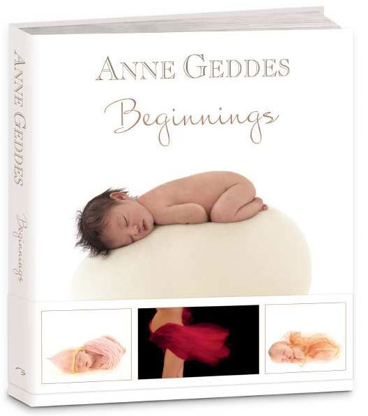 """Aussie photographer Anne Geddes was contemplating a hiatus from her studio when she came across an exhibit of bird nests. This unexpected encounter turned into the inspiration for her latest collection of baby photos, """"Beginnings."""" Anne Geddes Publishing, $50. Available at Amazon.com."""