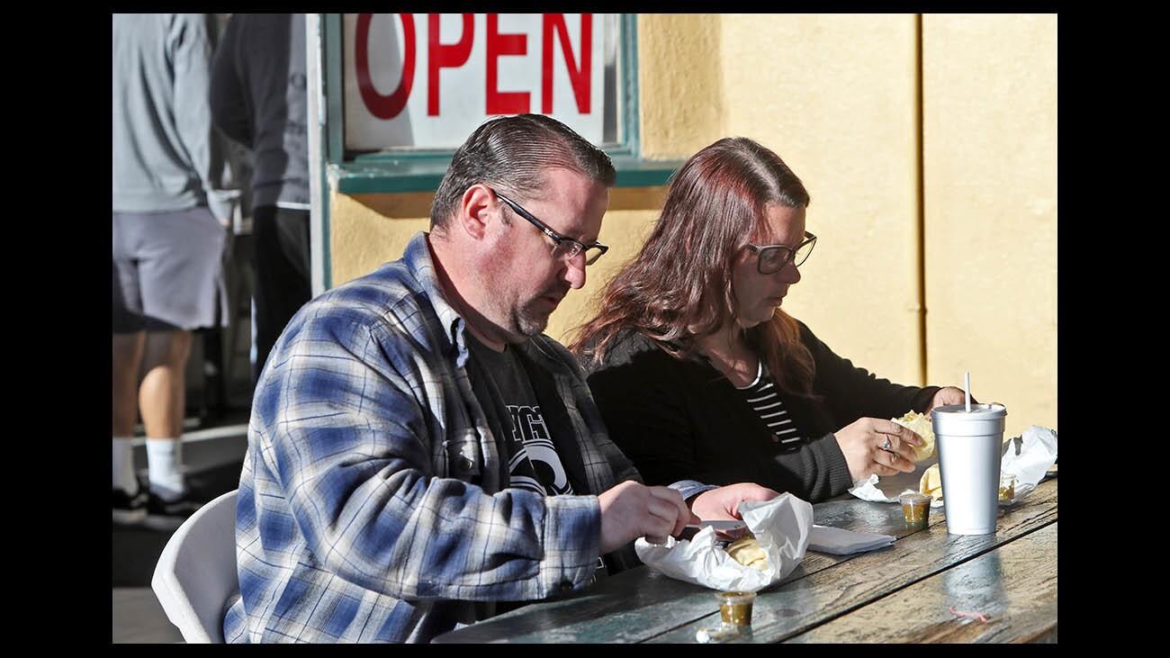 Photo Gallery: Corner Cottage breakfast burritos