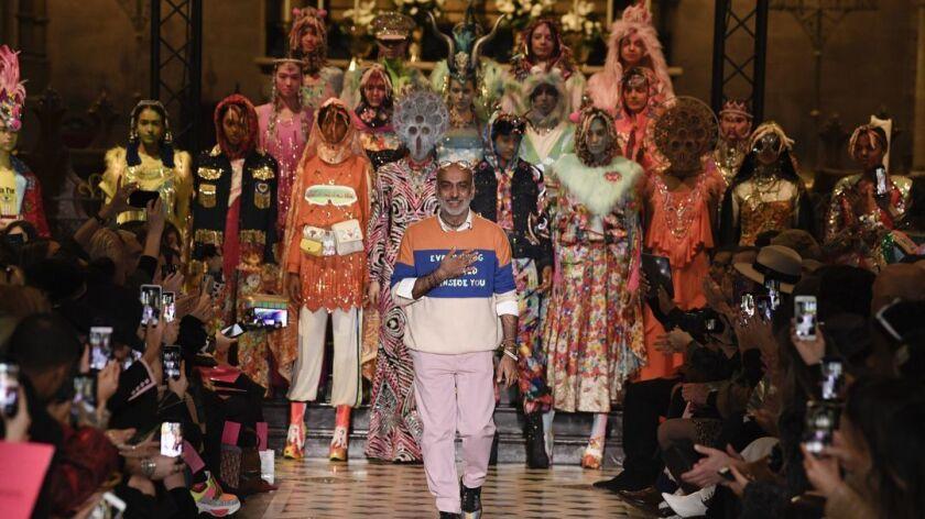 Ready to wear, winter 2019 2020, fashion week, womenswear, Paris, Manish Arora