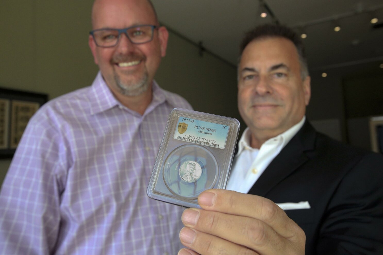 Rare aluminum penny goes back to feds - The San Diego Union-Tribune