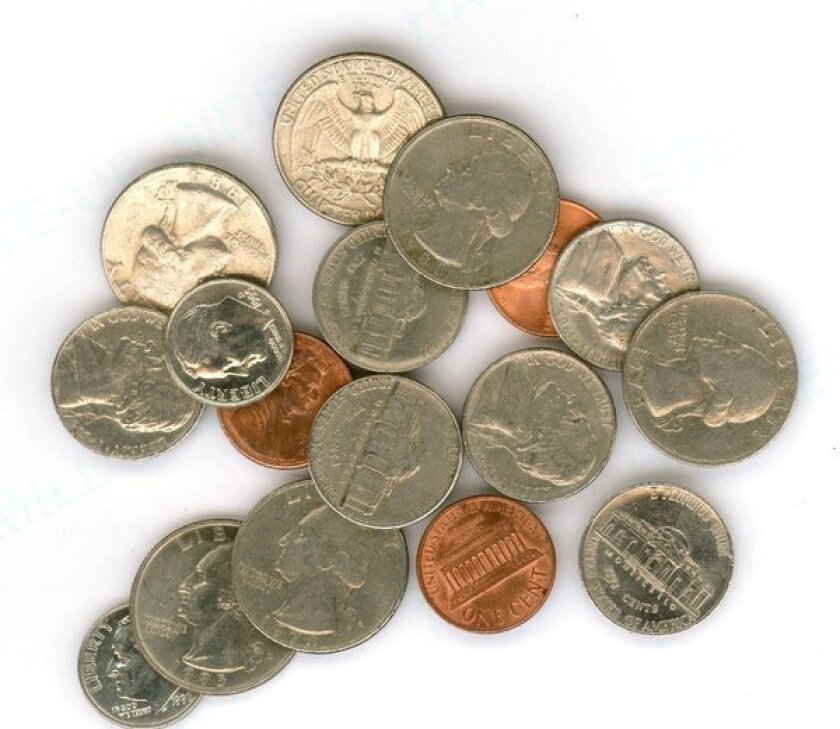 What to do with the loose change left at TSA checkpoints?