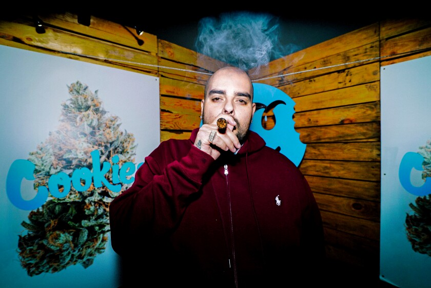 The rapper, dispensary owner and tech entrepreneur Gilbert Milam Jr., better known by his stage name, Berner.
