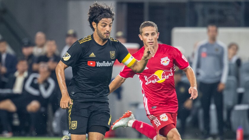 MLS Soccer - Los Angeles FC v New York Red Bulls