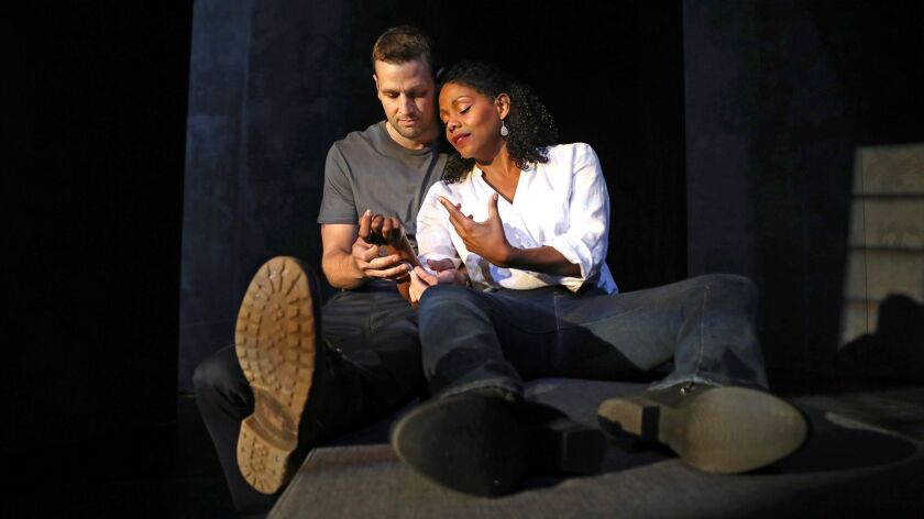 """South Coast Repertory presents the world premiere of """"Sheepdog"""" by Kevin Artigue, directed by Le"""