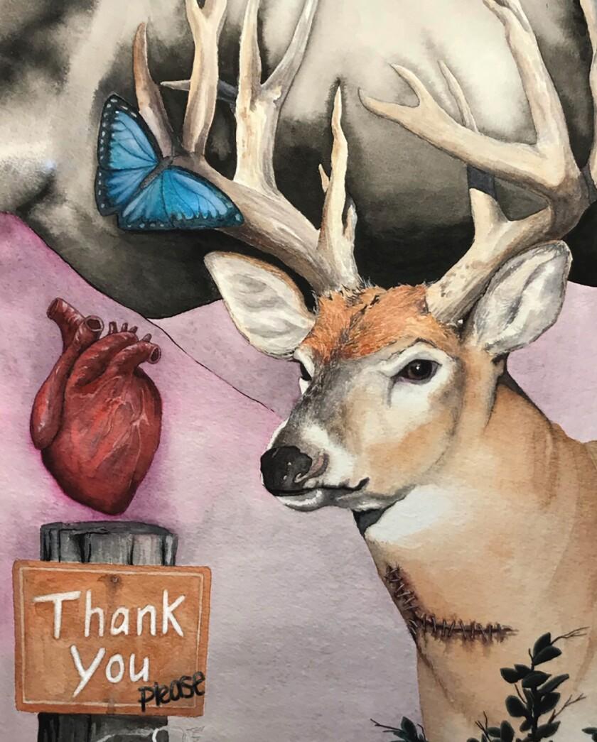 Deer Hearts by Aaron Moore