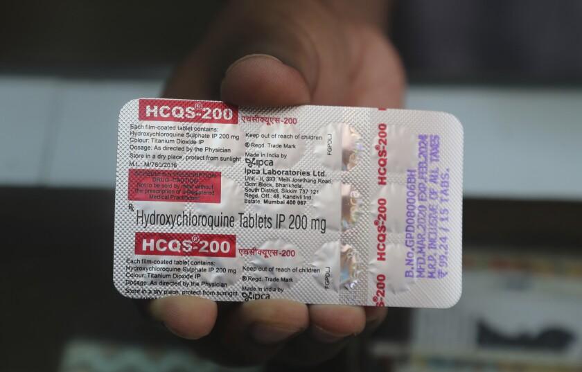 Virus Outbreak India Malaria Drug