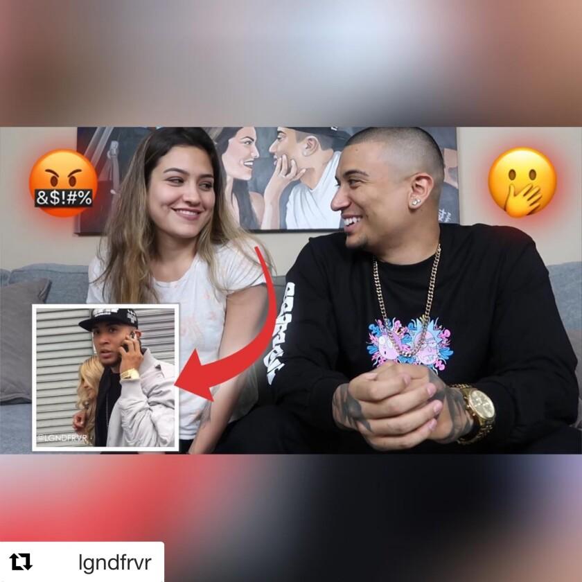 La joven pareja le pone un toque de humor a sus videos que después de ser publicados acumulan miles de reproducciones de sus seguidores.