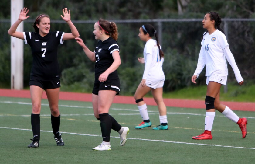 Photo Gallery: Flintridge Sacred Heart Academy soccer advances to finals in CIF State Southern California Regional Division III
