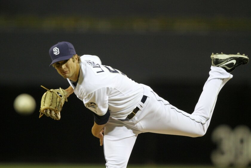 Padres pitcher Cory Luebke has moved from the bullpen to the starting rotation.