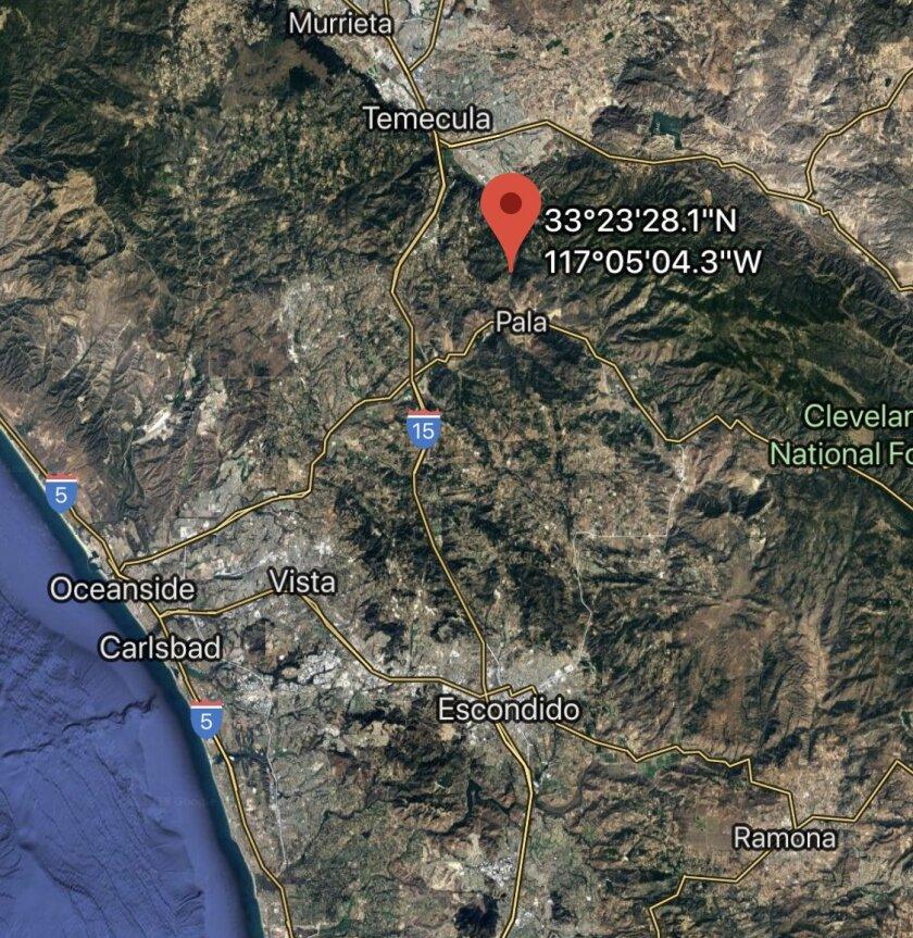 Head-on crash near Pala sends 3 to hospitals, shuts down