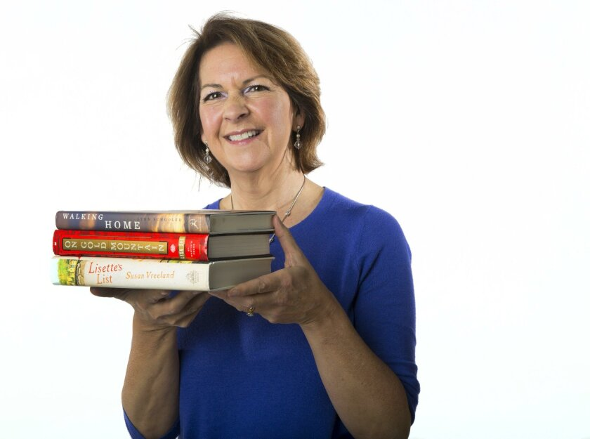 SAN DIEGO, CA-January 28, 2016: | Susan E. McBeth runs Adventures By the Book, a company that does book-related events and travel tours.  | (Howard Lipin / San Diego Union-Tribune)