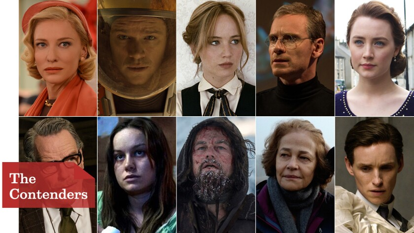 Watch the moments that might win them an Oscar