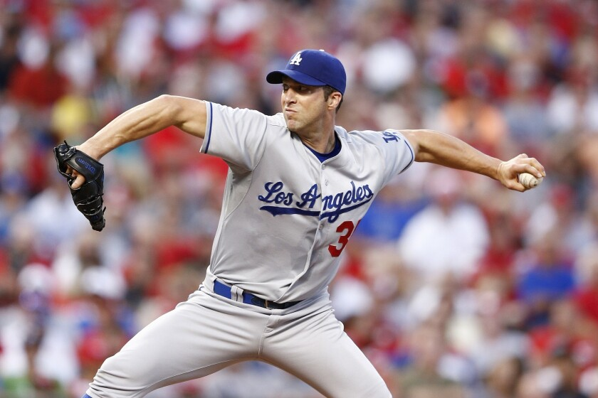 Dodgers pitcher Chris Capuano knows his postseason contribution could come in the form of a bullpen role.