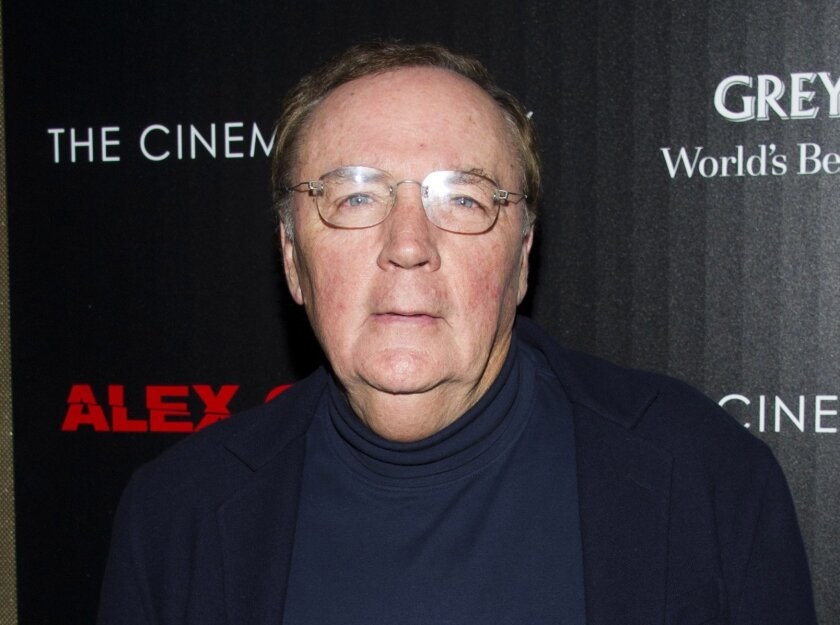 """FILE - In this Oct. 18, 2012, file photo, James Patterson attends a screening of """"Alex Cross"""" in New York. The author and literary philanthropist told The Associated Press on Tuesday, March 29, 2016, that for a second year he is donating about $1.75 million to the country's school libraries. (Photo by Charles Sykes/Invision/AP, File)"""