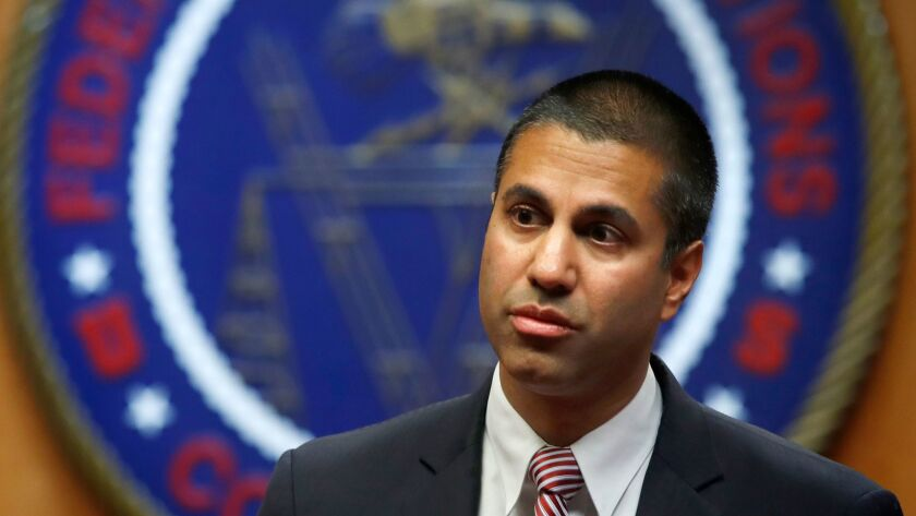 FCC Chairman Ajit Pai cast the deciding vote to repeal Obama-era federal net neutrality protection. A new court ruling upheld that repeal while potentially allowing states to decide on their own broadband rules.