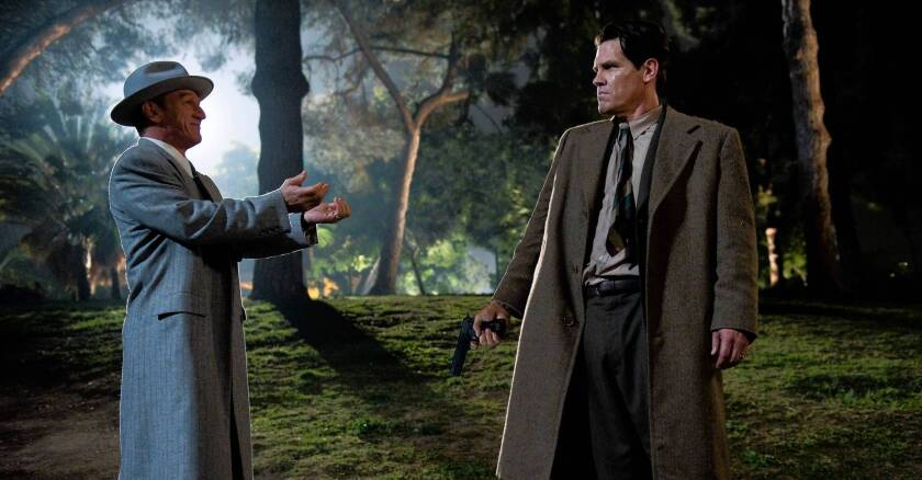 Review: 'Gangster Squad' runs through its ammo to no avail