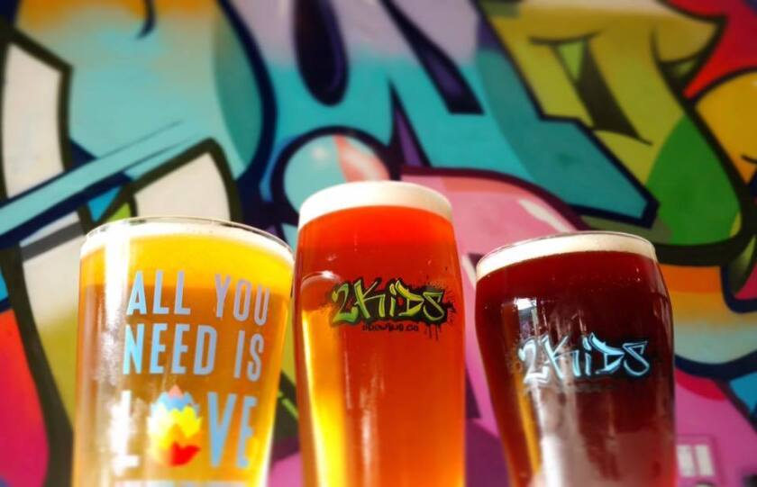 2Kids Brewing celebrates 4 years with a birthday bash that helps support the National Brain Tumor Society. (Courtesy photo)