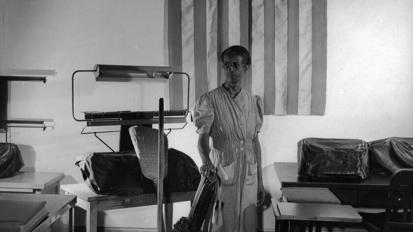 Ella Watson, Washington D.C. government charwoman, 1942.