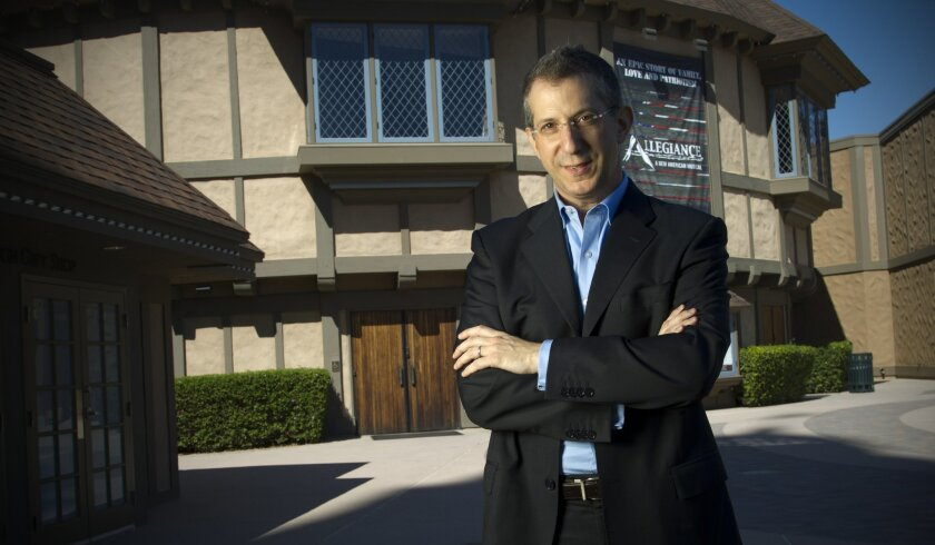 Barry Edelstein, director of the Shakespeare Initiative at the Public Theater in New York, has been named artistic director of San Diego's Old Globe Theatre.