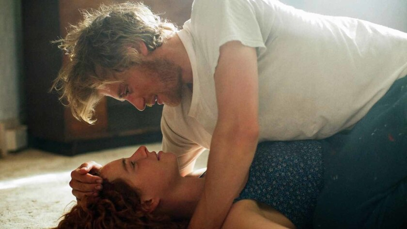 Johnny Flynn and Jessie Buckley in BEAST Photo credit: Kerry Brown Courtesy of 30WEST and Roadside