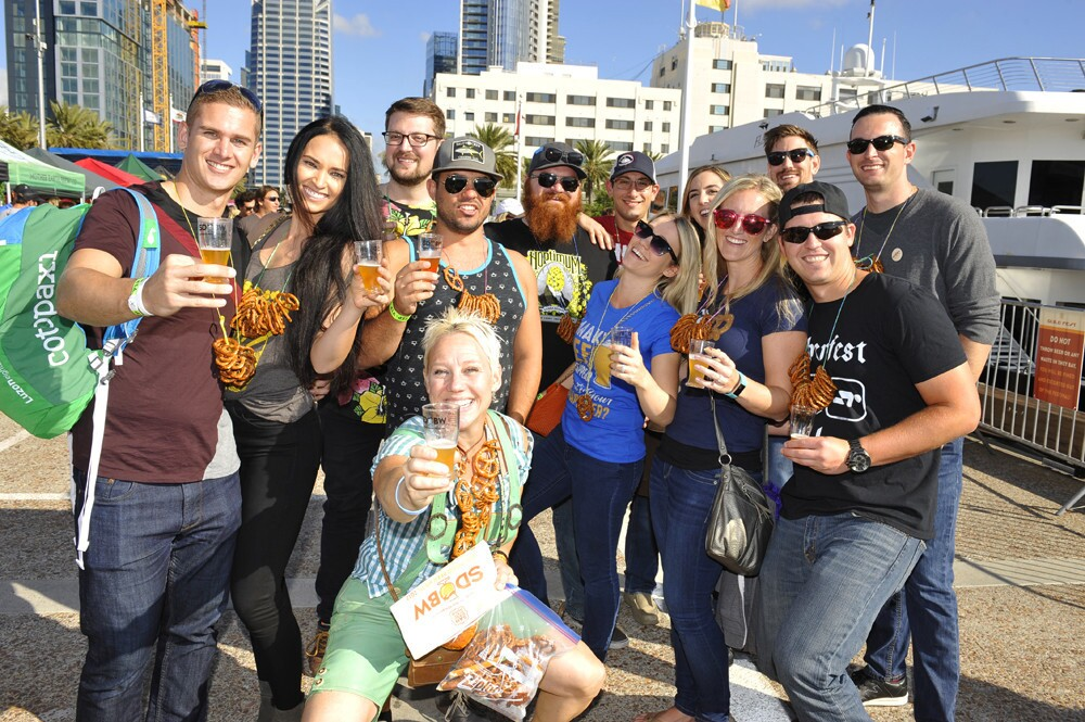 Beer-lovers celebrated the official start of San Diego Beer Week at the San Diego Brewers Guild Festival on Saturday, Nov. 4, 2017.