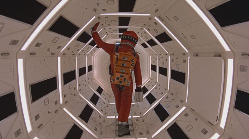 """A scene from """"2001: A Space Odyssey."""" Credit: Warner Bros. Pictures"""