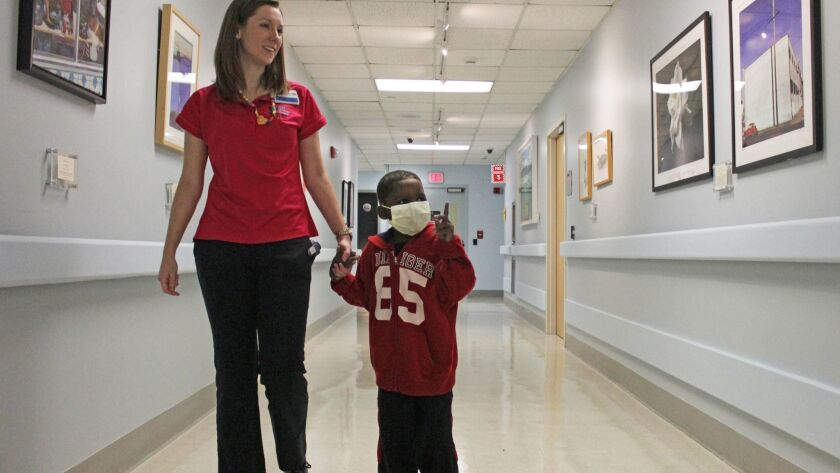 Healing hallways: Art gallery transforms childrenís hospital