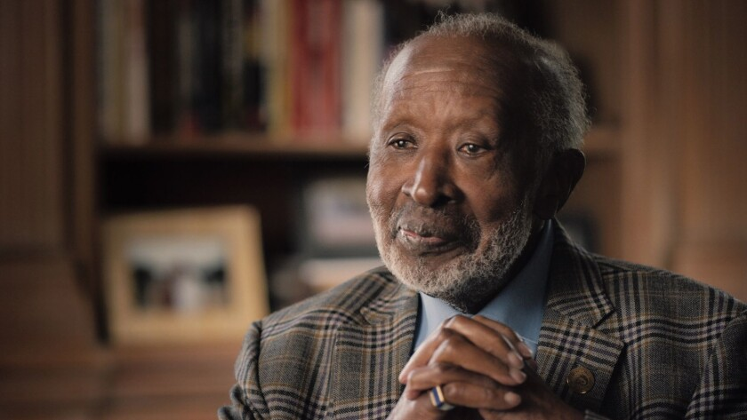 """Clarence Avant in a scene from """"The Black Godfather."""" Credit: Netflix"""