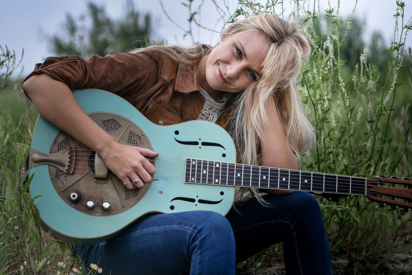 Sarah Rogo will perform with her blues band at the Adams Avenue Street Fair. (Dave Gordon)