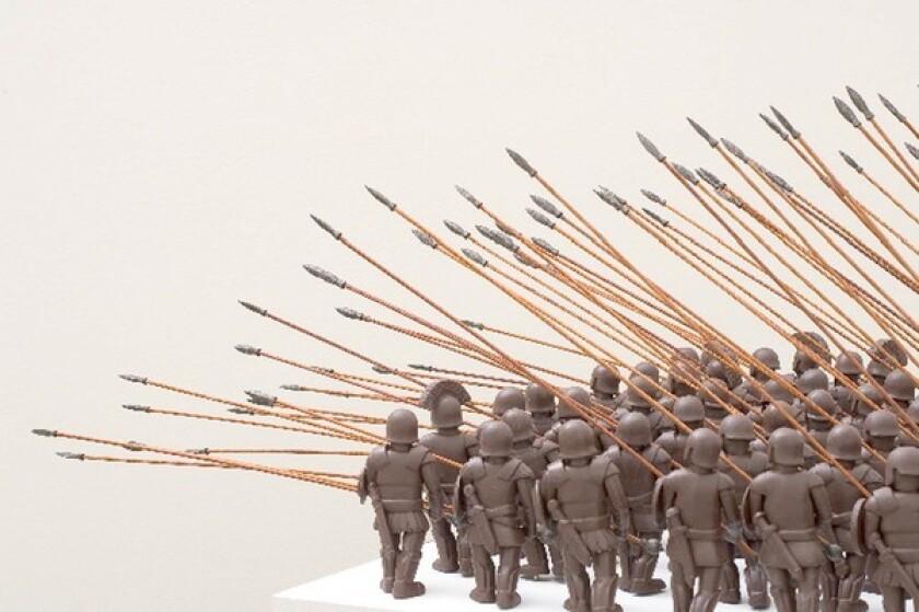 Ben Jackel stoneware soldiers