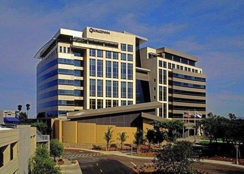 Qualcomm Inc. headquarters in San Diego.