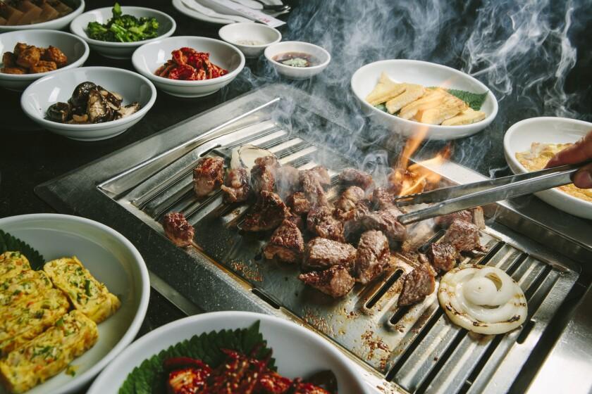Korean barbecue at Park's BBQ