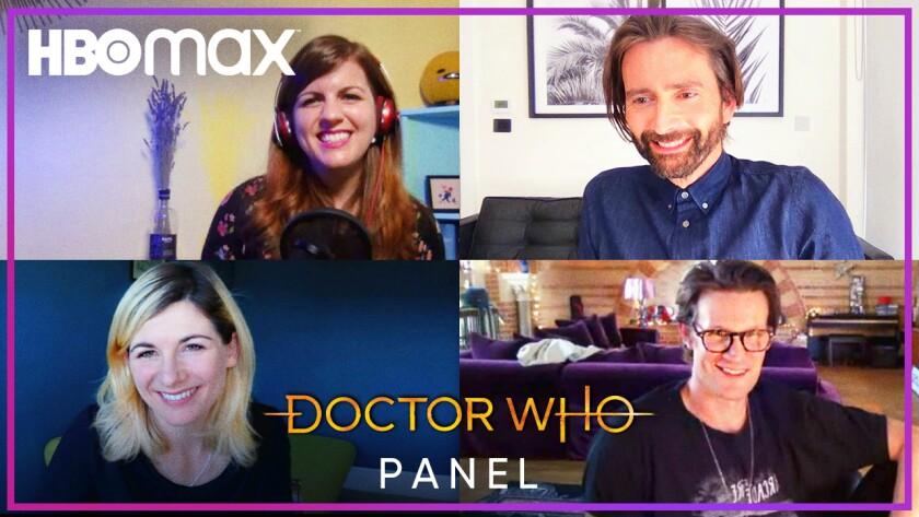 """Doctor Who"" panel"