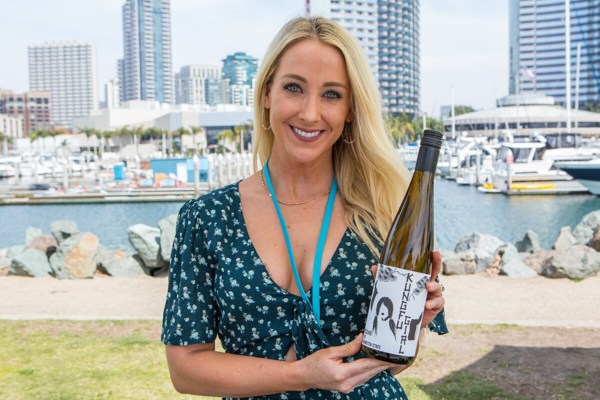 """There was nothing to """"wine"""" about at the San Diego Uncorked Wine Festival at Embarcadero Marina Park North on Saturday, March 31, 2018."""