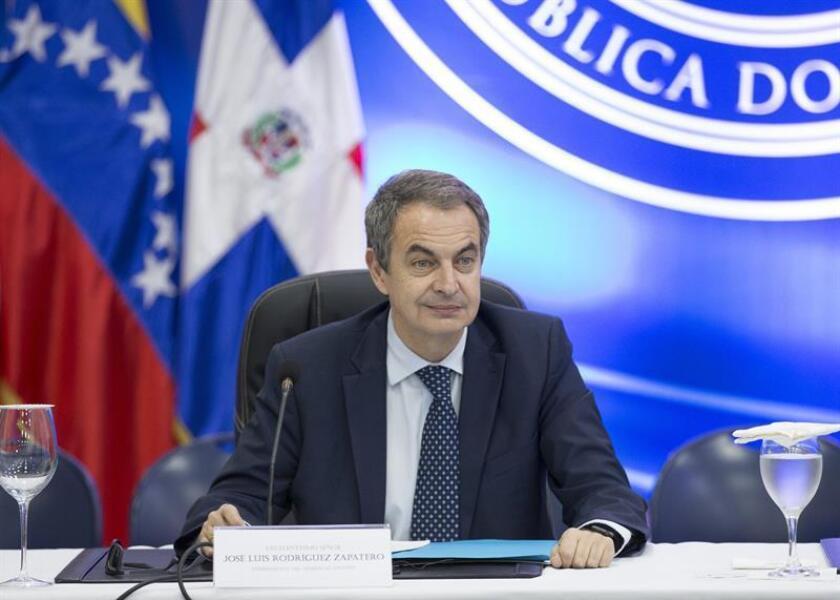 El expresidente del gobierno español, José Luis Rodríguez Zapatero. EFE/Archivo